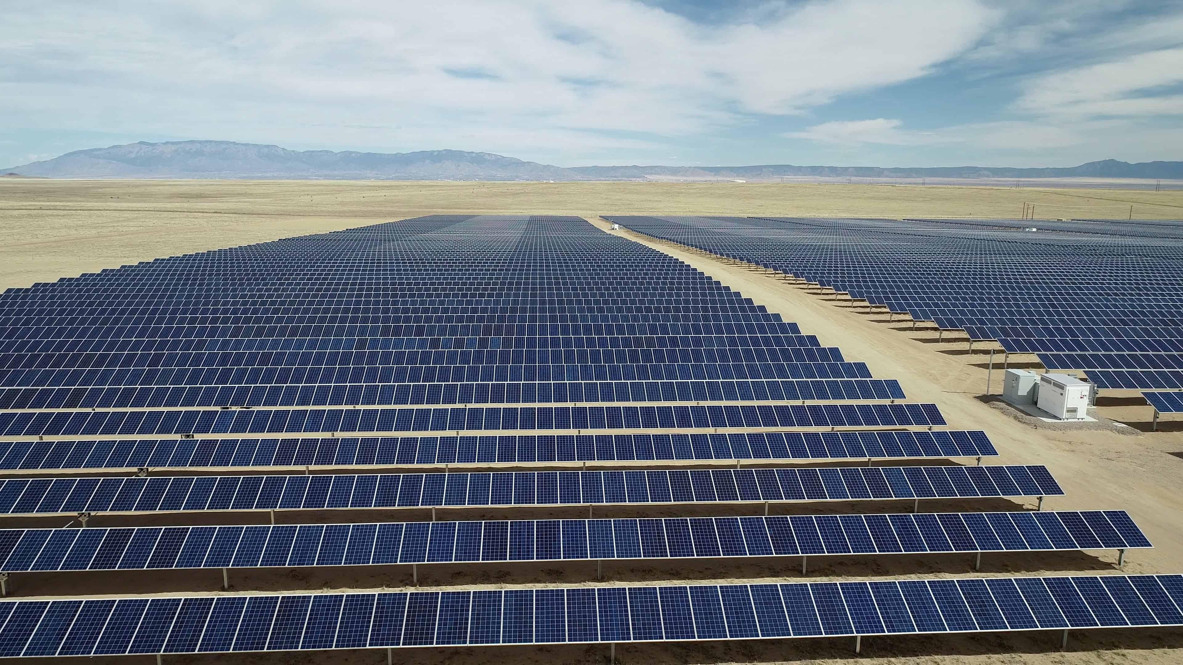 solar panel everywhere