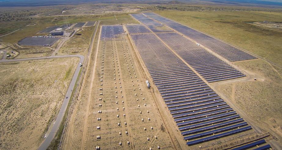 solar on ground