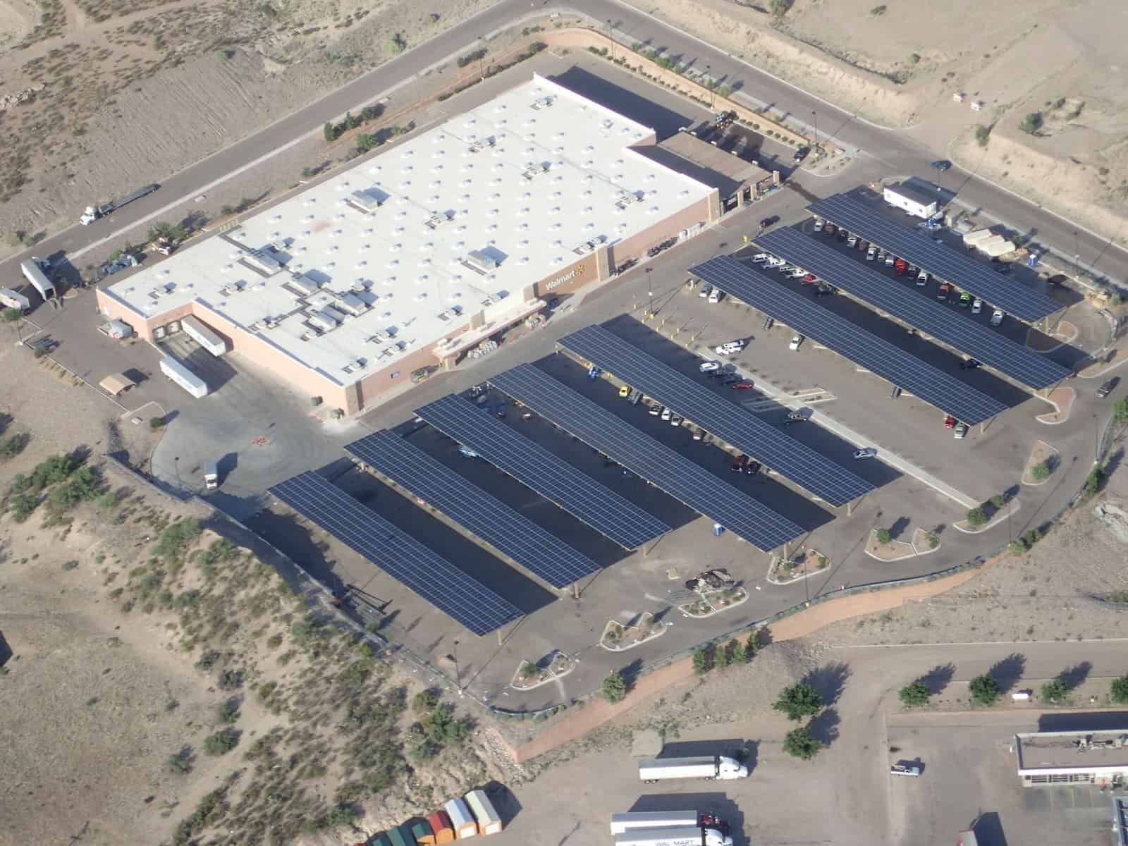 Walmart Supercenter Affordable Solar Installation New Mexico