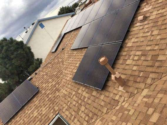 Goodner Installation Affordable Solar Residential Albuquerque Roof Solar Panel Installation Project